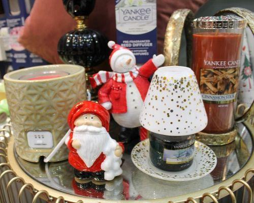 Óleos e velas natalícios da Yankee Candle