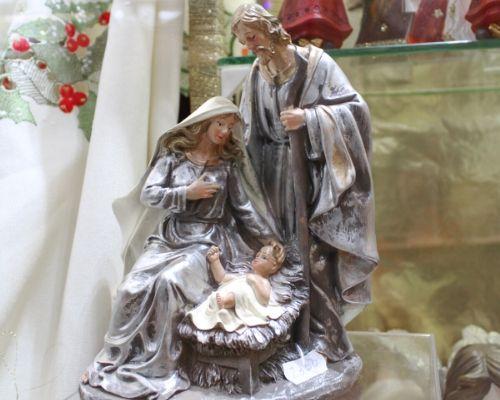 Presépio de Natal feito artesanalmente